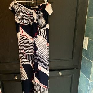 Strapless maxi dress. Wore once.